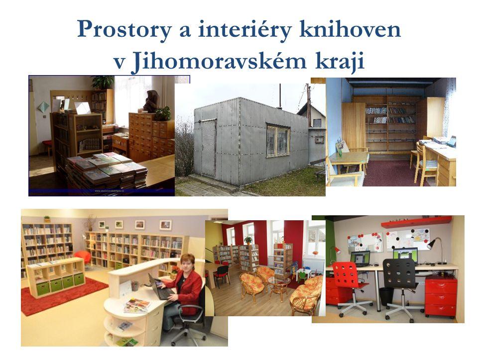 Prostory a interiéry knihoven v Jihomoravském kraji