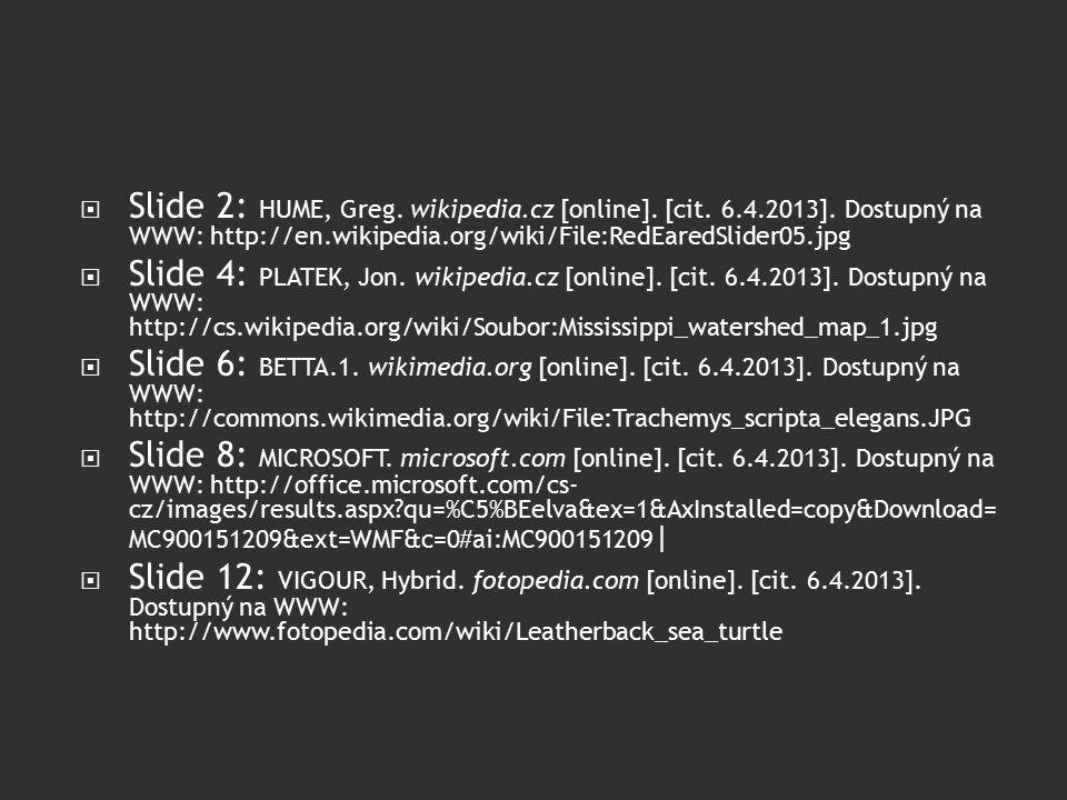  Slide 2: HUME, Greg. wikipedia.cz [online]. [cit.