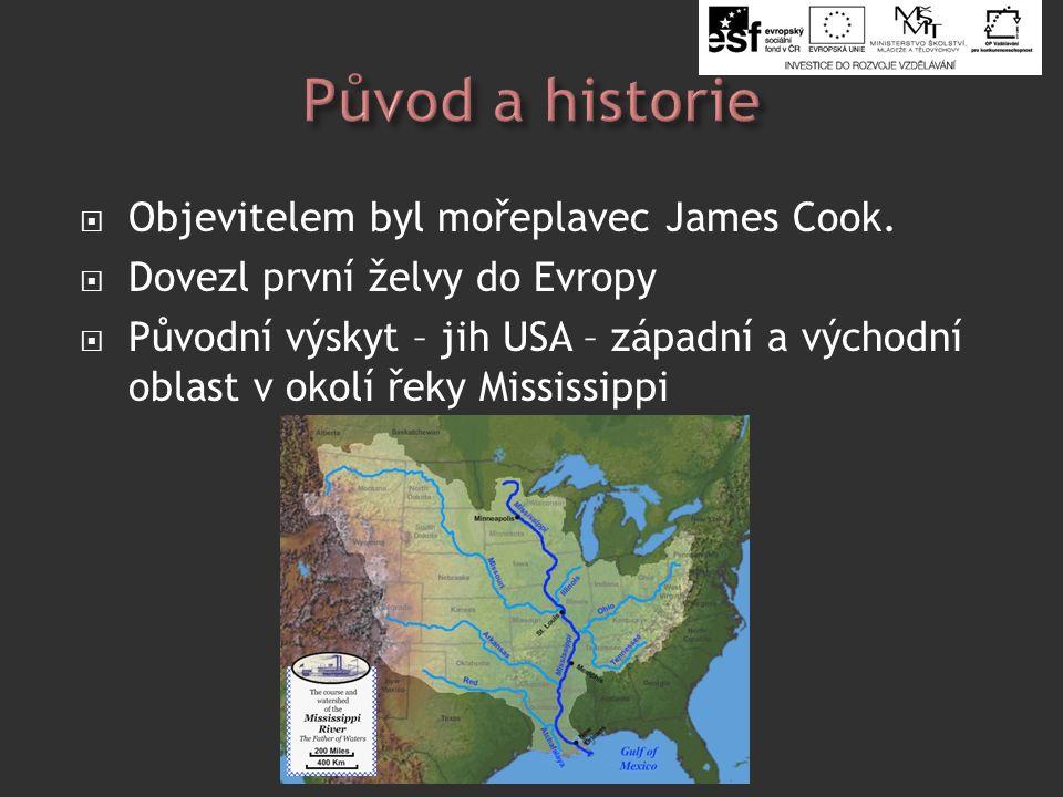  Objevitelem byl mořeplavec James Cook.