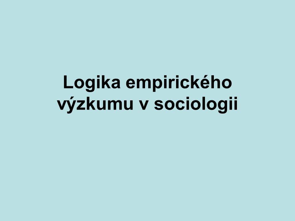 KMVP část 15 Co je sociologický výzkum.