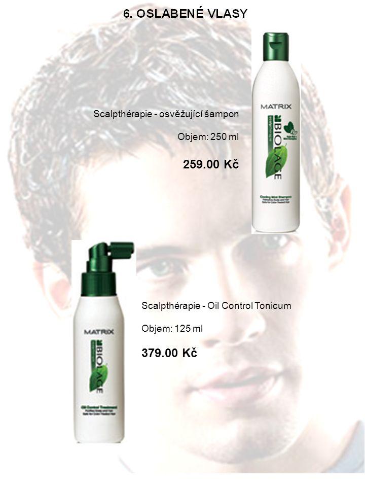 Scalpthérapie - osvěžující šampon Objem: 250 ml 259.00 Kč Scalpthérapie - Oil Control Tonicum Objem: 125 ml 379.00 Kč