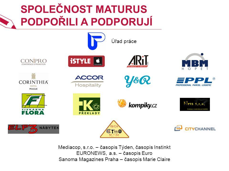 SPOLEČNOST MATURUS PODPOŘILI A PODPORUJÍ Mediacop, s.r.o.