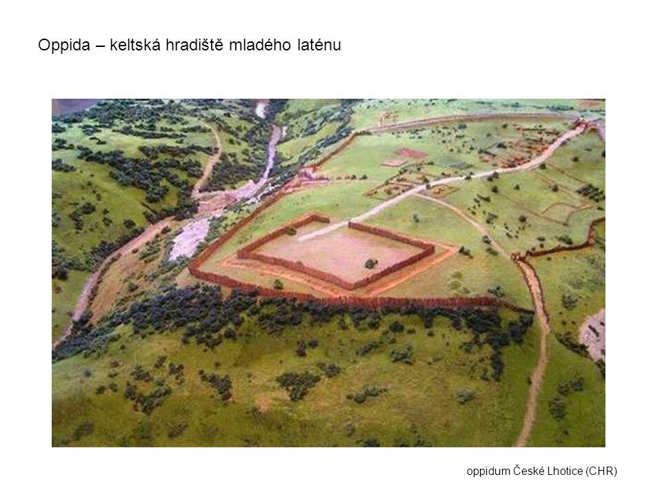 Oppida – keltská hradiště mladého laténu oppidum České Lhotice (CHR)