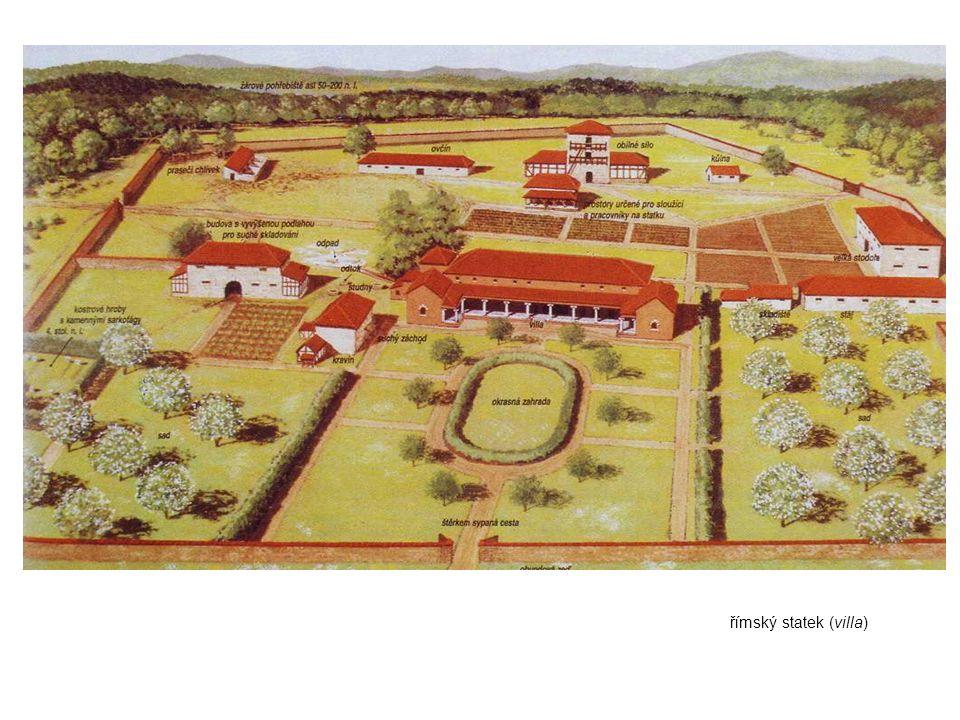 římský statek (villa)