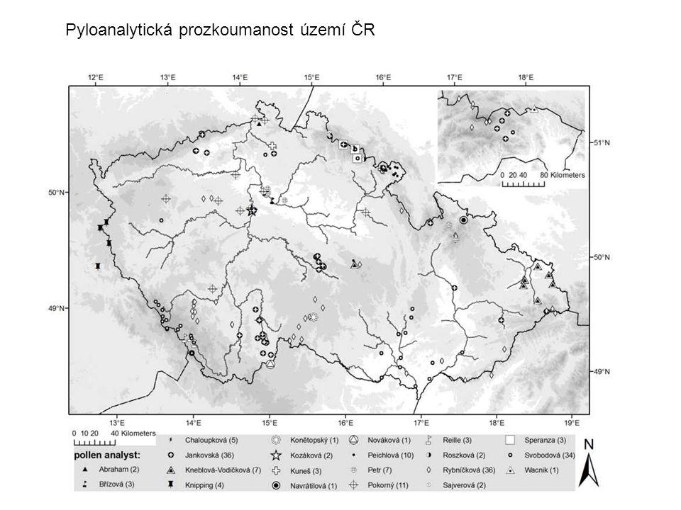 Pyloanalytická prozkoumanost území ČR