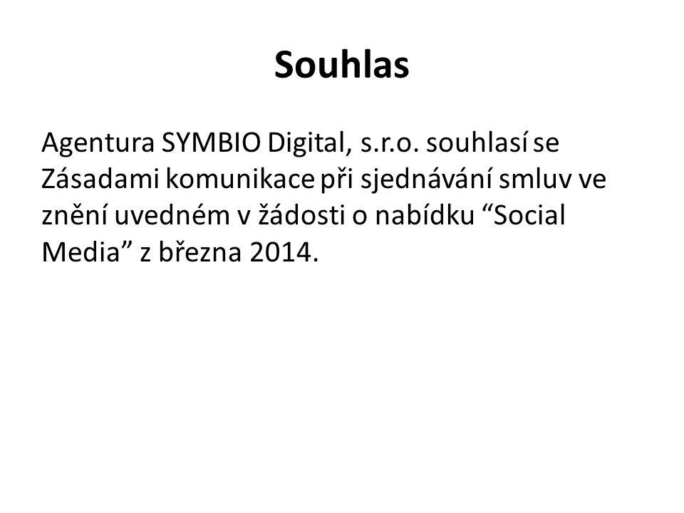 Souhlas Agentura SYMBIO Digital, s.r.o.