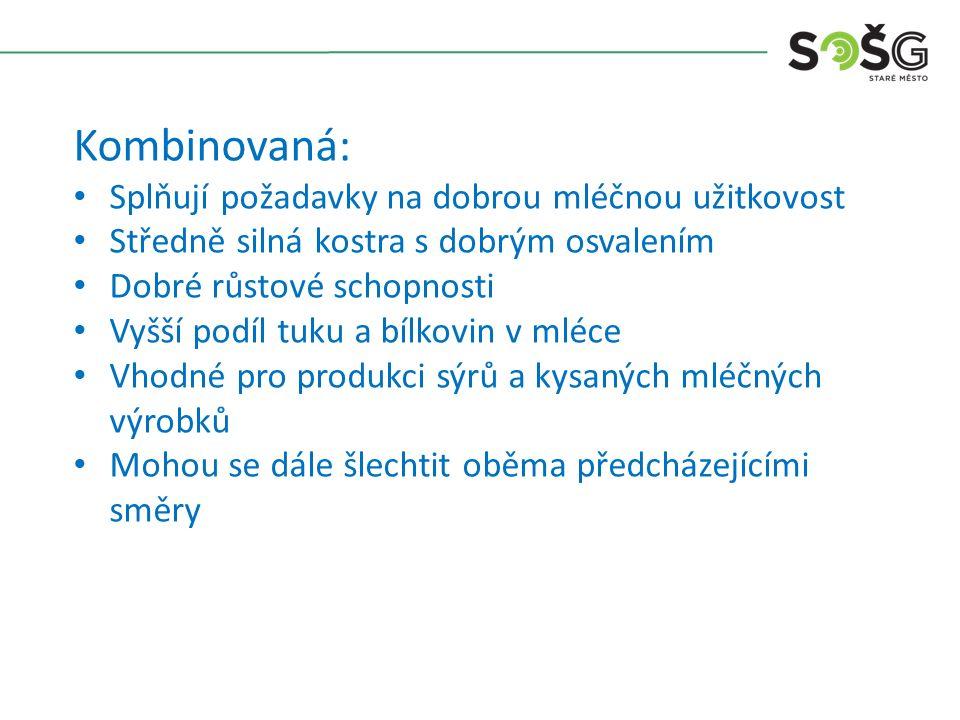 Holštýnsko – fríský skot: Patří mezi nejrozšířenější kulturní plemena na světě.