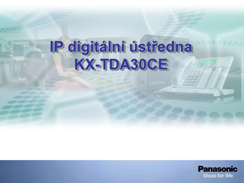 IP digitální ústředna KX-TDA30CE KX-TDA30CE