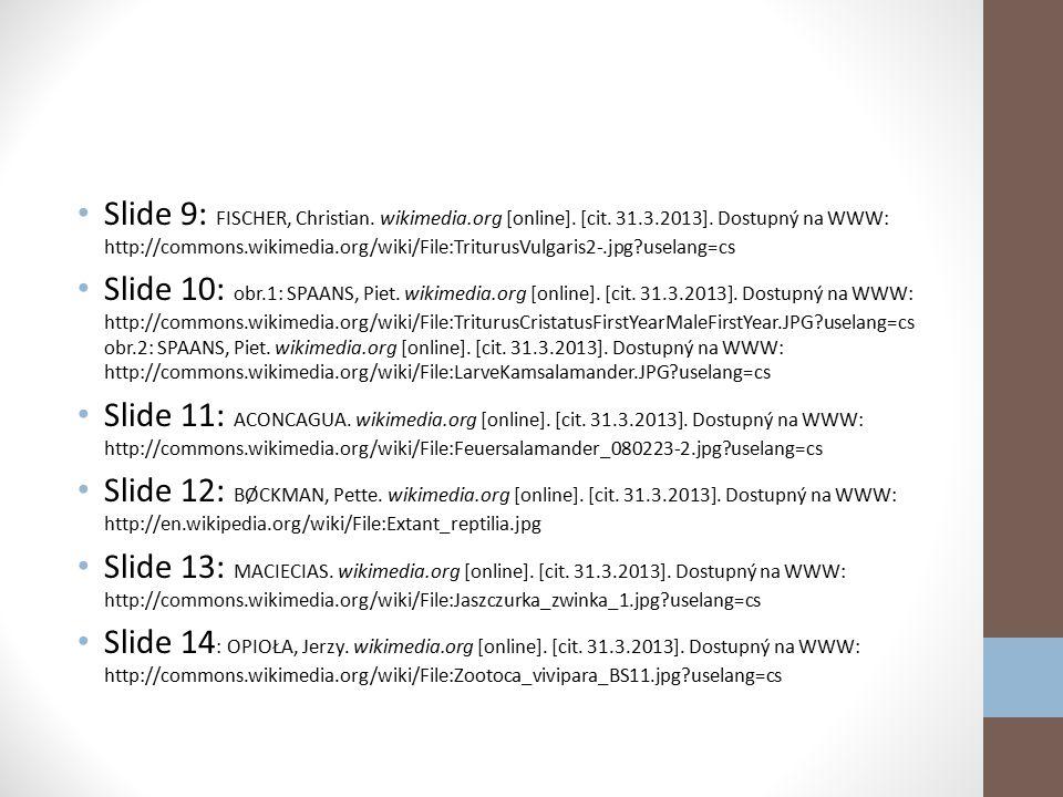 Slide 3: WN61. wikimedia.org [online]. [cit. 31.3.2013]. Dostupný na WWW:http://commons.wikimedia.org/wiki/File:080624_Schneekoppe.JPG?uselang=cs Slid