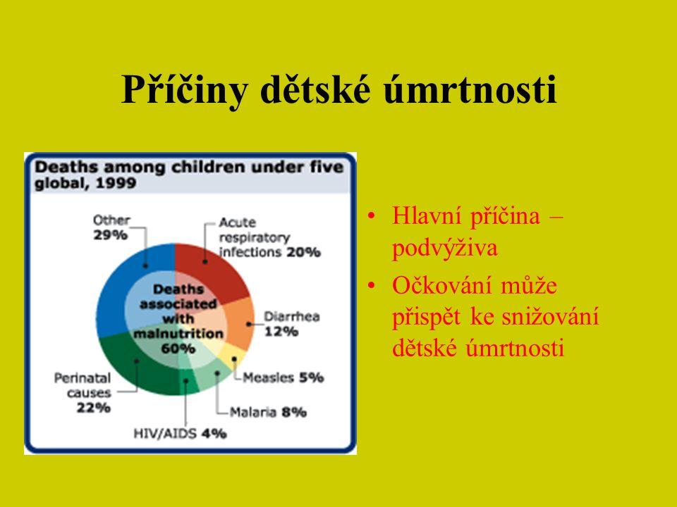 Co třeba udělat pro redukci dětské úmrtnosti.