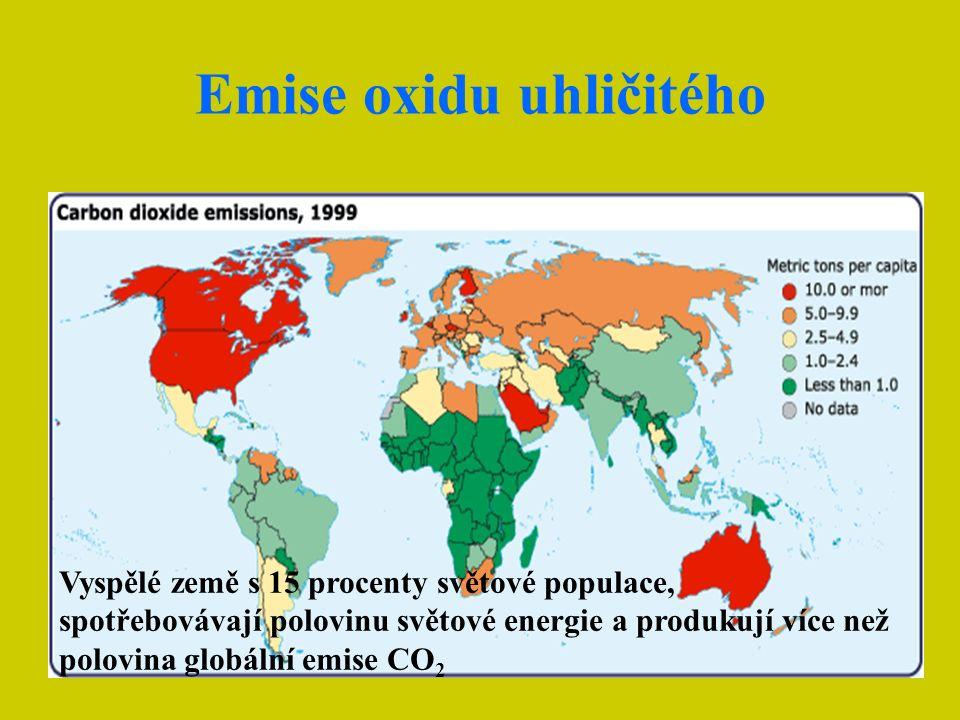 Jak se na tomto vývoji podílejí některé země