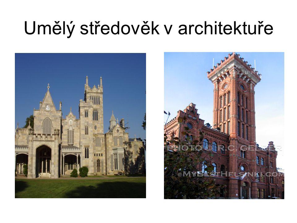 Umělý středověk v architektuře