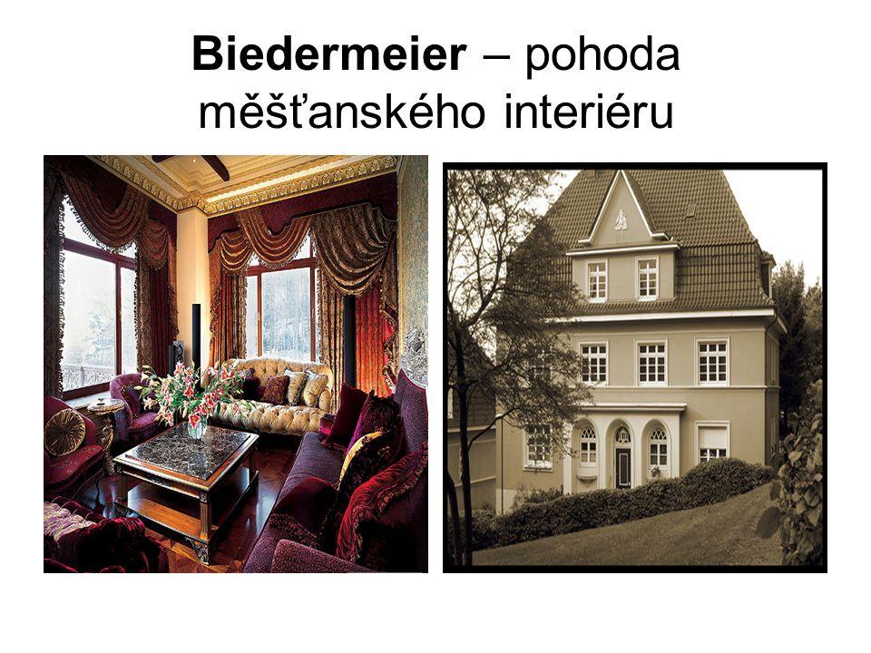 Biedermeier – pohoda měšťanského interiéru