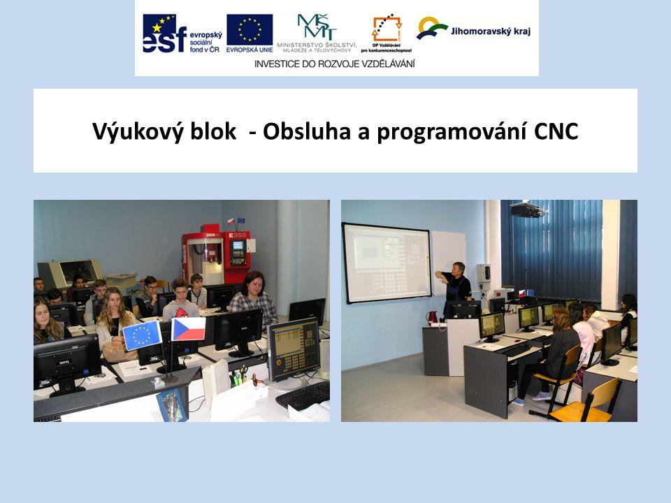 Výukový blok - Obsluha a programování CNC