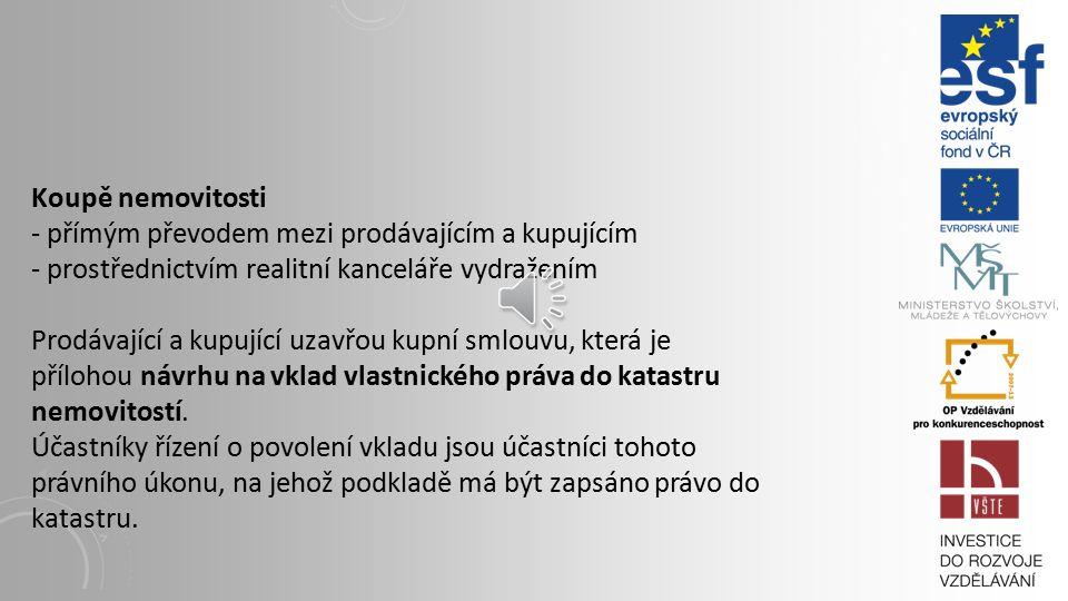 Možné základní varianty výběru projektanta 1) výběr projektanta dle Zákona o veřejných zakázkách 2) investor má oprávnění k projektování a bude sám stavbu projektovat 3) investor má zkušenosti s projektantem z jiných investic 4) investor zná několik projektantů, ale nemá s nimi zkušenosti 5) investor nezná žádné projektanty