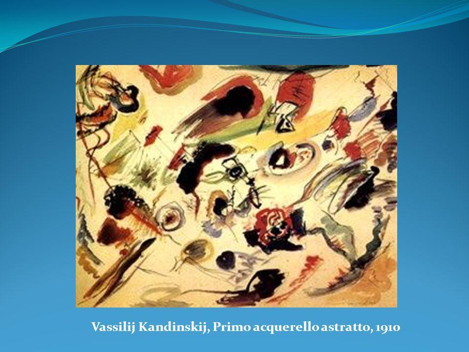 Vassilij Kandinskij, Primo acquerello astratto, 1910