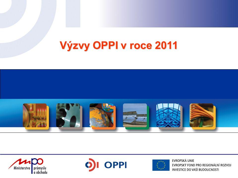 Výzvy OPPI v roce 2011
