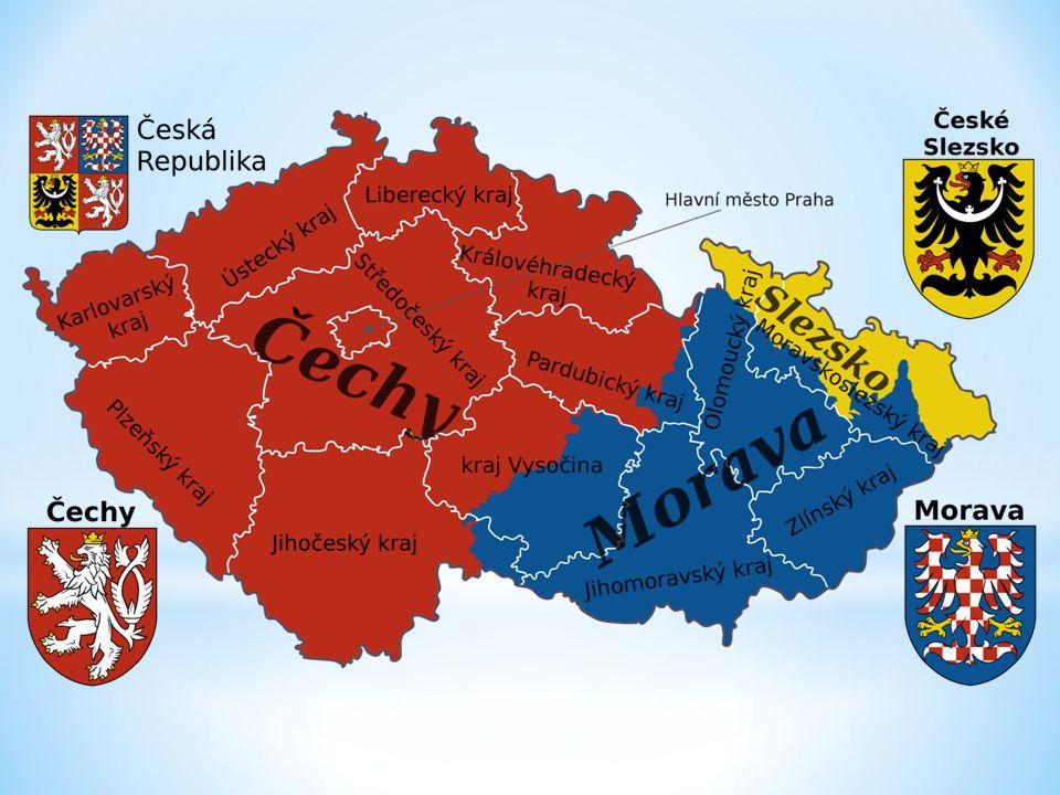 Česká republika leží v srdci Evropy.