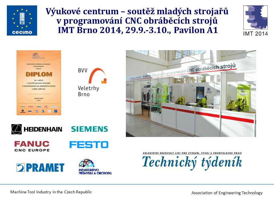 Association of Engineering Technology Machine Tool Industry in the Czech Republic Plnění : KA 02 Zvýšení dovedností žáků v předmětu mechatronika Praktická výuka odborníky zaměstnanců – příklad testu.