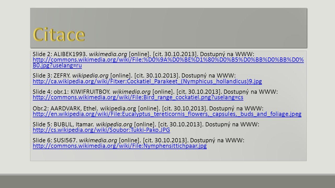 Slide 7: obr.1: RITTER, Sebastian.wikimedia.org [online].