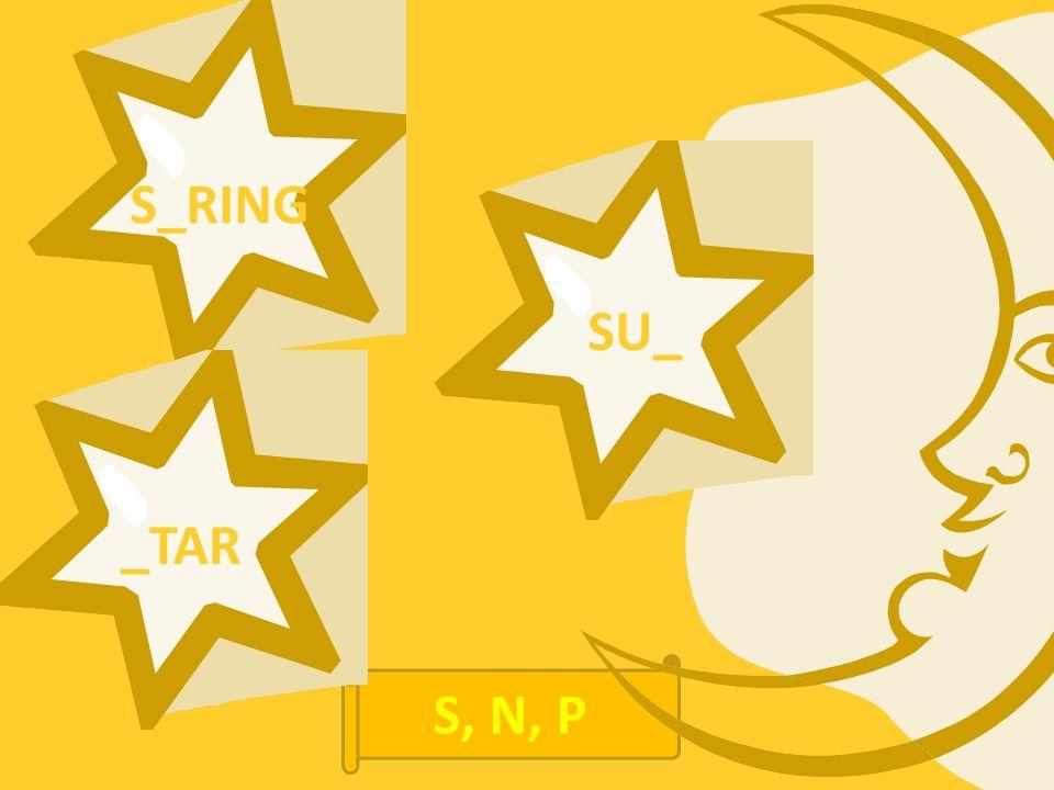S_RING _TAR SU_ S, N, P
