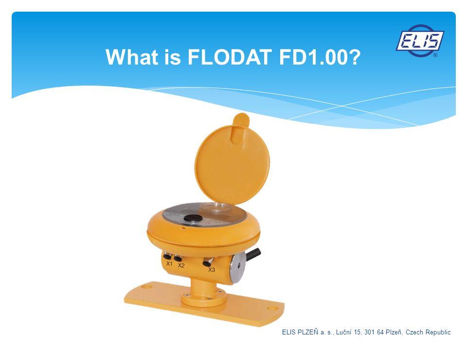 What is FLODAT FD1.00? ELIS PLZEŇ a. s., Luční 15, 301 64 Plzeň, Czech Republic