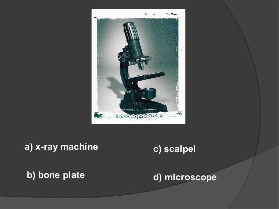 a) exercise machine b) dialysis machine c) pinwheel d) scales