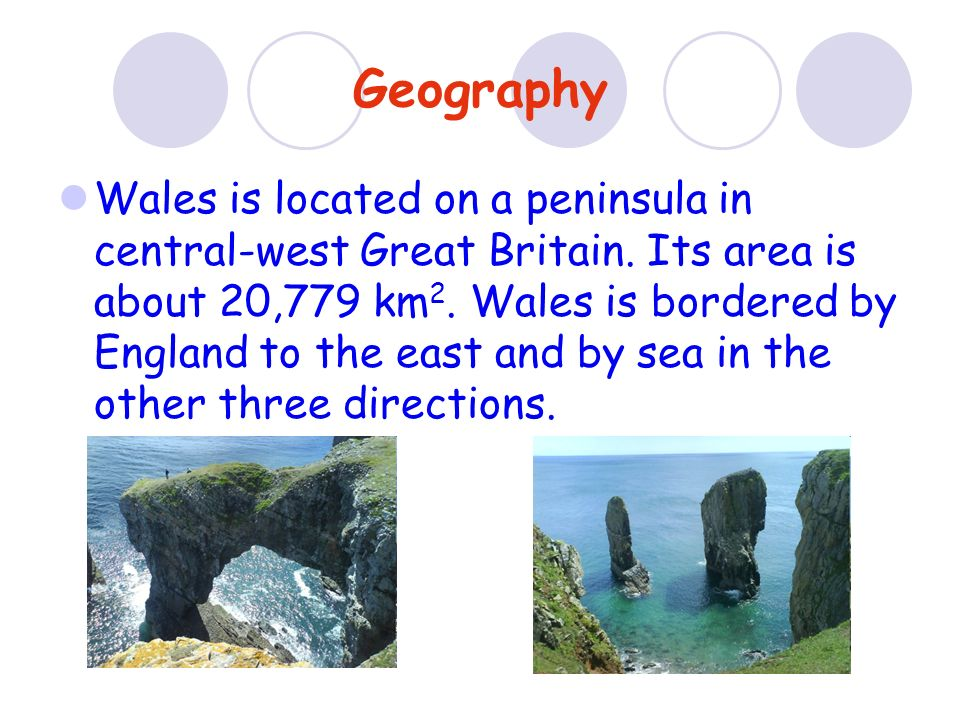 Wales has three National Parks: Snowdonia, Brecon Beacons and Pembrokeshire Coast.