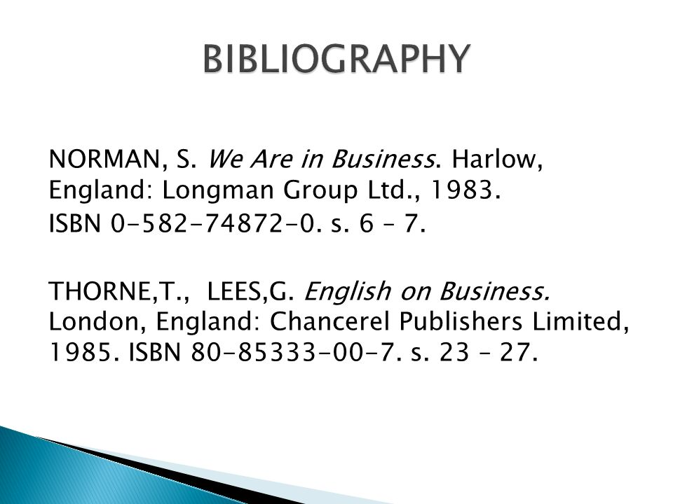 NORMAN, S. We Are in Business. Harlow, England: Longman Group Ltd., 1983.