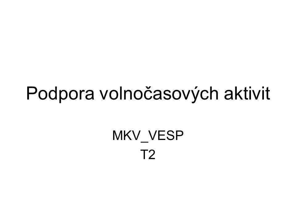 Podpora volnočasových aktivit MKV_VESP T2