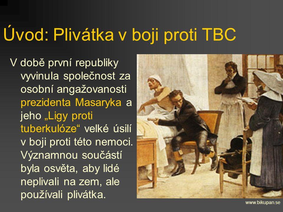 """Úvod: Plivátka v boji proti TBC V době první republiky vyvinula společnost za osobní angažovanosti prezidenta Masaryka a jeho """"Ligy proti tuberkulóze"""""""