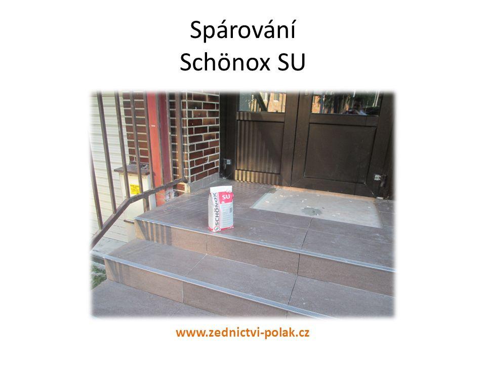 Spárování Schönox SU