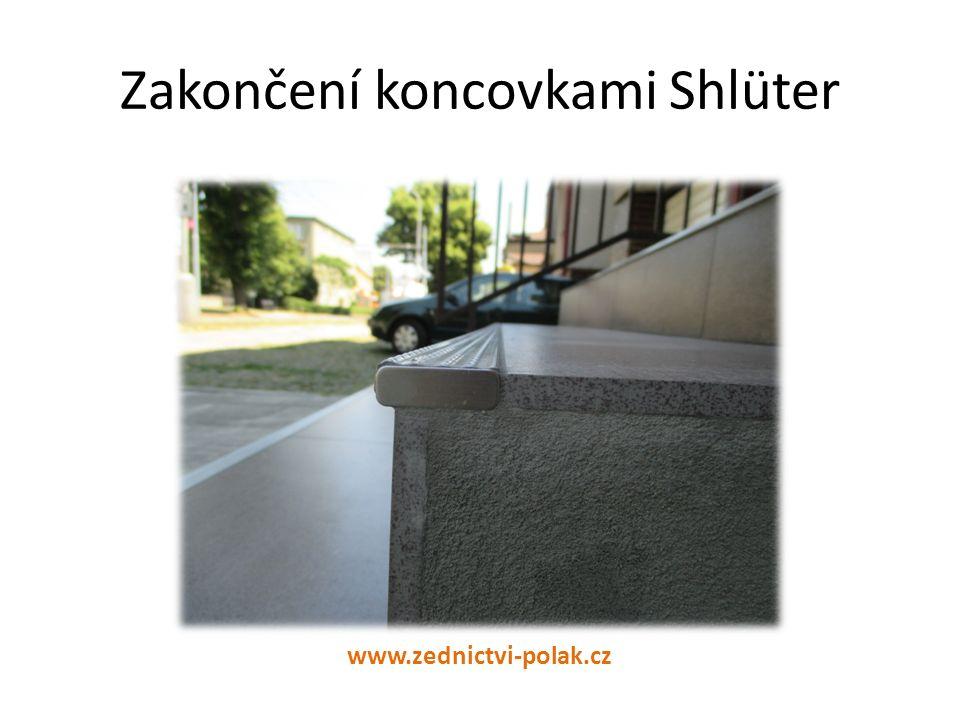 Zakončení koncovkami Shlüter