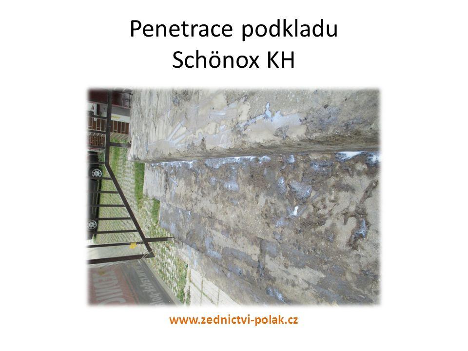 Vyrovnání schodiště stěrkou Schönox PL