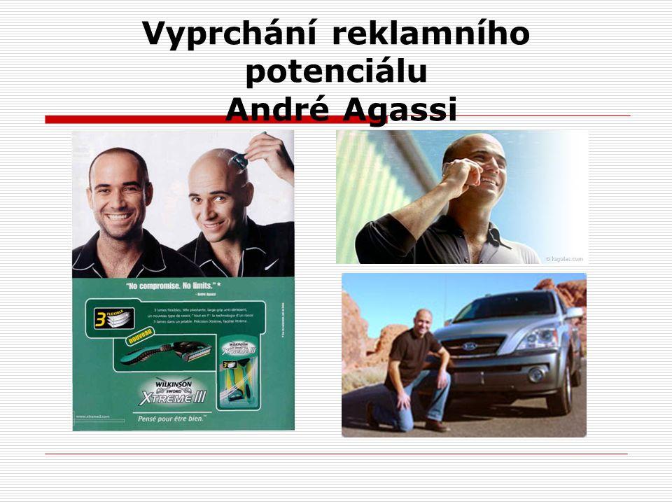 Vyprchání reklamního potenciálu André Agassi