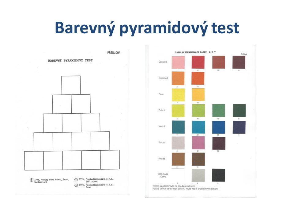 Barevný pyramidový test