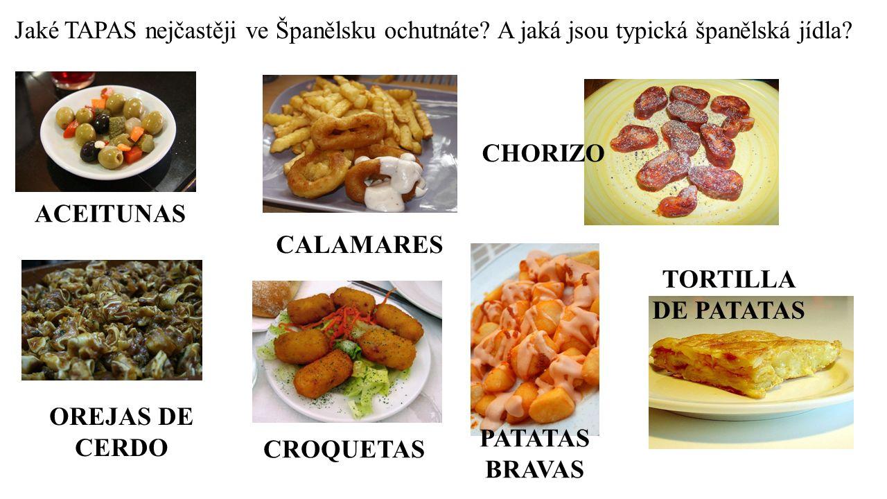 Jaké TAPAS nejčastěji ve Španělsku ochutnáte.A jaká jsou typická španělská jídla.