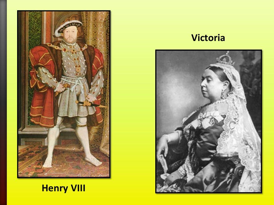 Henry VIII Victoria