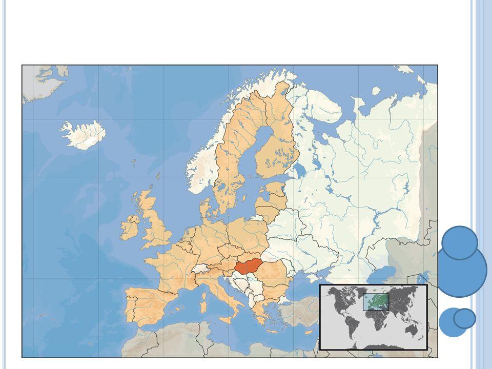 M APA MAĎARSKA Sousední země: Slovensko, Rakousko, Ukrajina, Slovinsko, Chorvatsko, Rumunsko, Srbsko