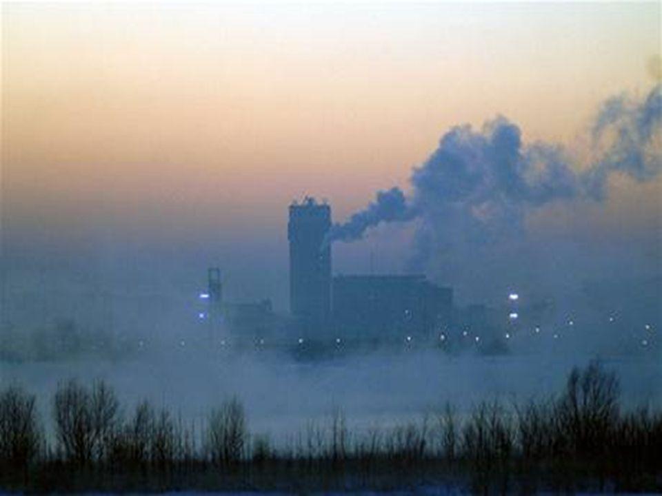 Největší producenti CO 2 (nejvýznamnějšího skleníkového plynu)  vulkány.