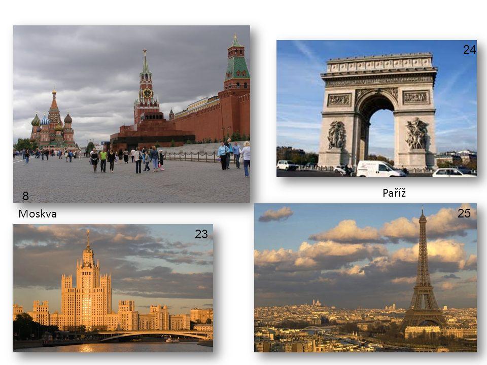 Moskva Paříž 8 23 24 25