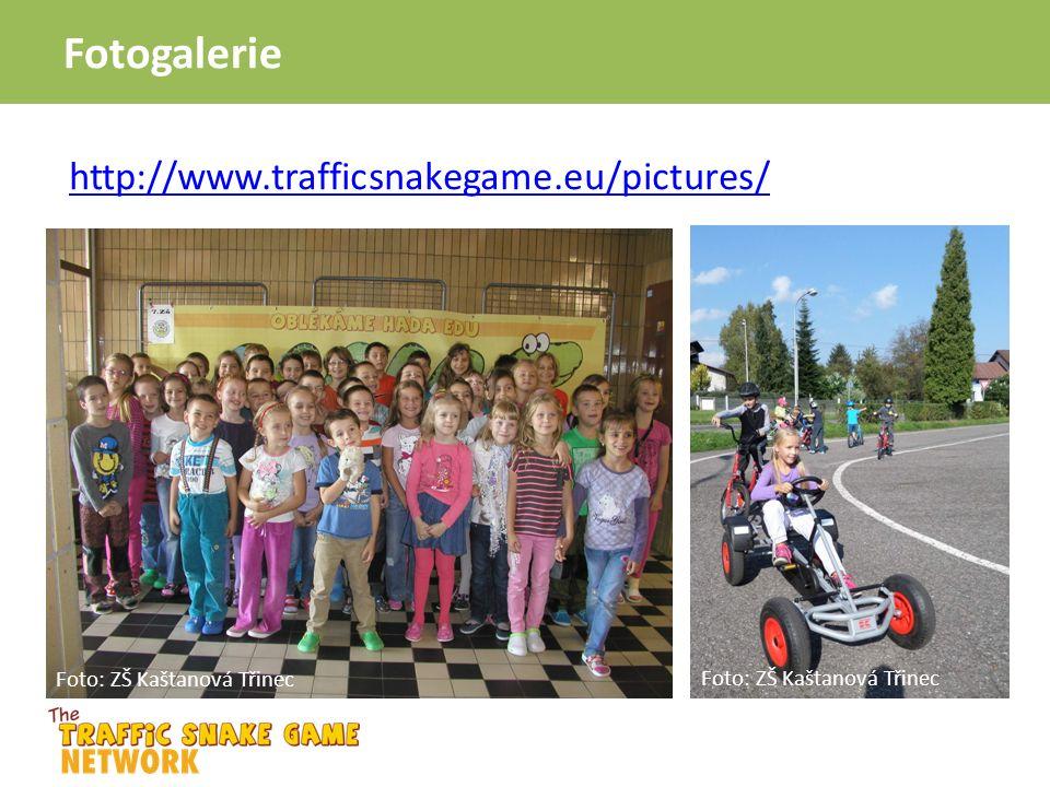 http://www.trafficsnakegame.eu/pictures/ Fotogalerie Foto: ZŠ Kaštanová Třinec