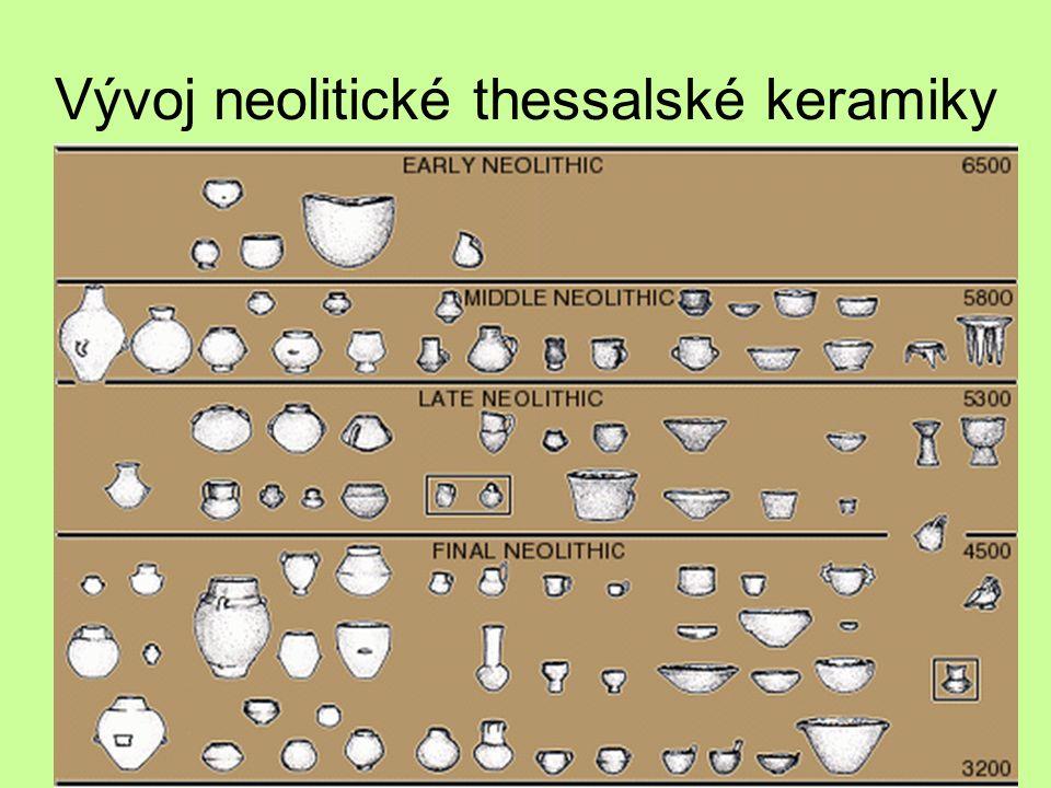 Vývoj neolitické thessalské keramiky