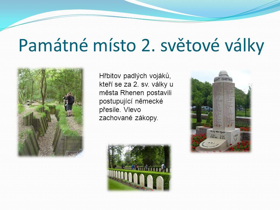 Památné místo 2. světové války Hřbitov padlých vojáků, kteří se za 2.