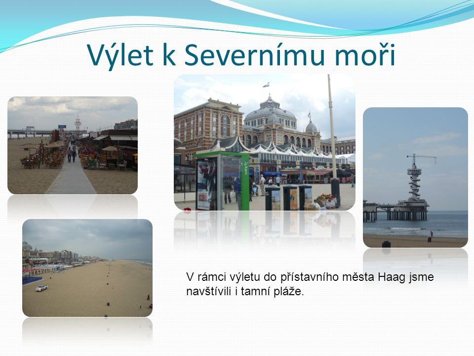 Výlet k Severnímu moři V rámci výletu do přístavního města Haag jsme navštívili i tamní pláže.