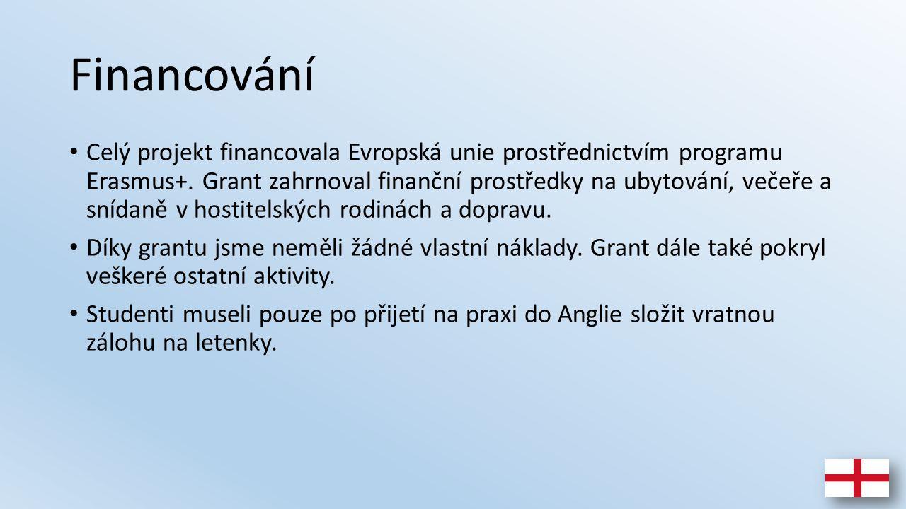 Financování Celý projekt financovala Evropská unie prostřednictvím programu Erasmus+.