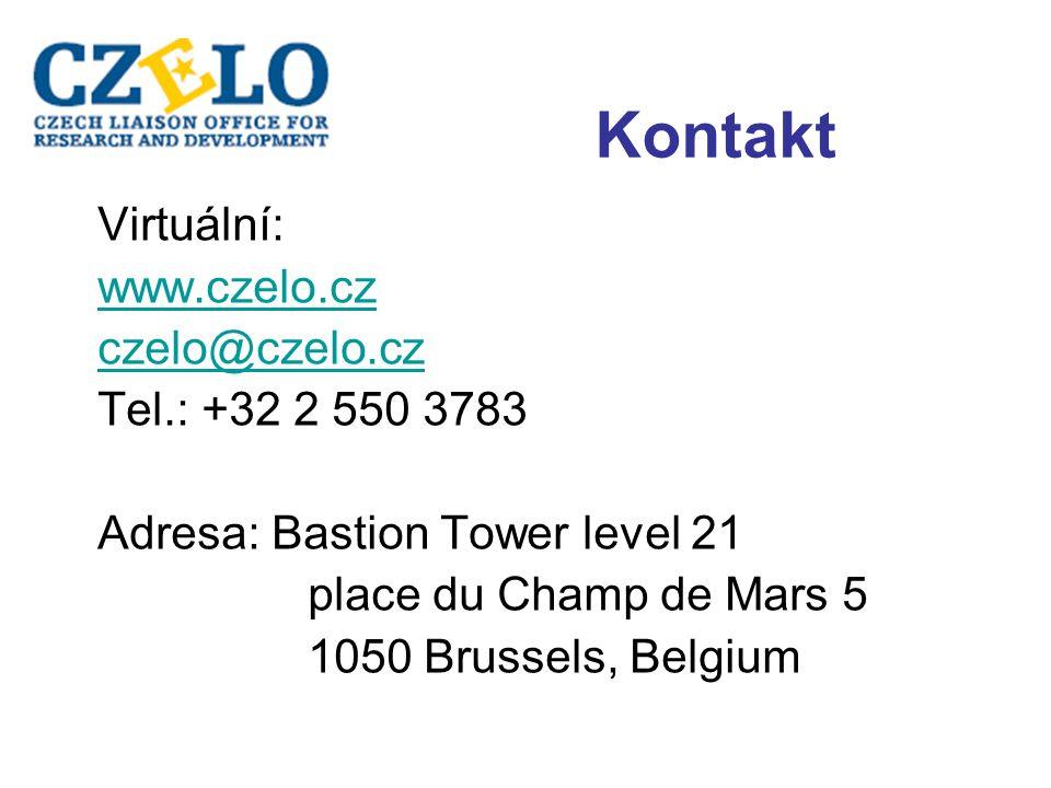 Kontakt Virtuální: www.czelo.cz czelo@czelo.cz Tel.: +32 2 550 3783 Adresa: Bastion Tower level 21 place du Champ de Mars 5 1050 Brussels, Belgium
