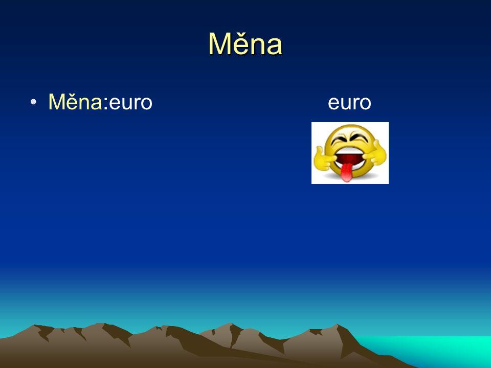 Měna Měna:euro euro