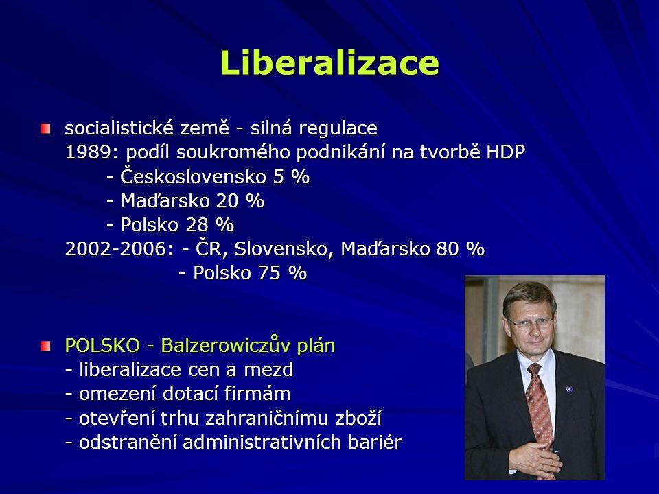 """Liberalizace ČESKOSLOVENSKO - """"česká cesta - 1.1."""