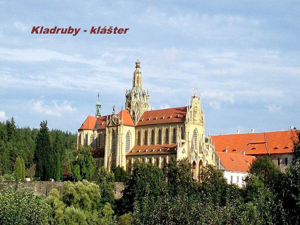 Kladruby - klášter
